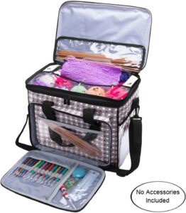 Knitting Tool Organizer Bag