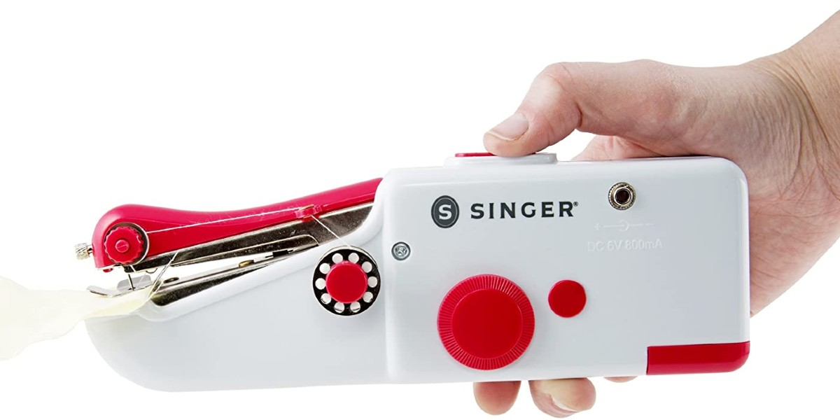 How To Use Singer Handheld Sewing Machine