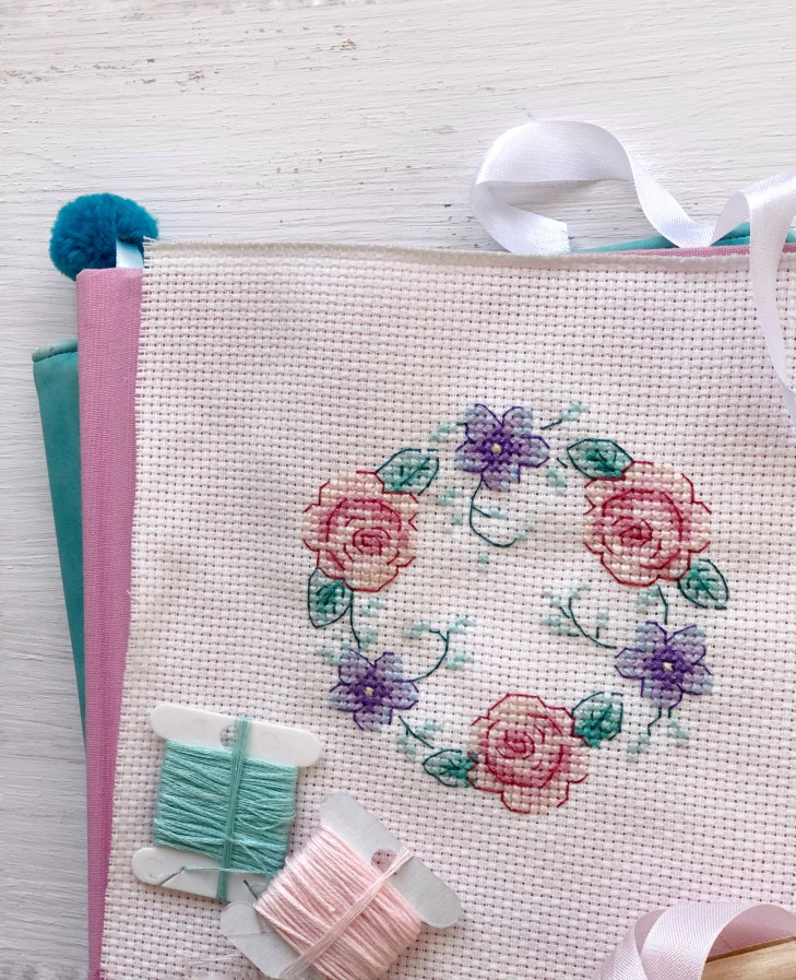 Modern Counted Cross Stitch Patterns for Babies