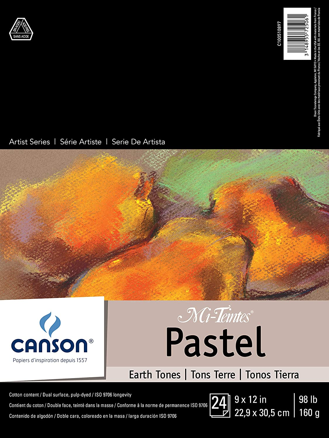 Canson Mi-Teintes Pad – Best Toned Paper